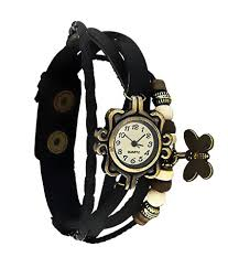 bensiln black and white leather casual bracelet watch in india bensiln black and white leather casual bracelet watch at snapdeal