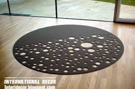 pictures gallery of contemporary round rugs