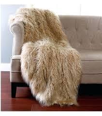 faux mongolian fur rug gy taupe faux fur throw 2 sizes mongolian lamb faux fur lounge