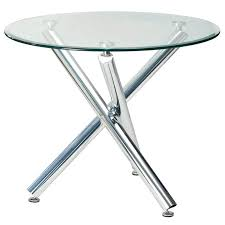 round glass table top dining room tables with glass tops round top regarding table idea 4