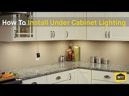 How To Install LED Under Cabinet Lighting YouTube Pertaining Led Plan 0
