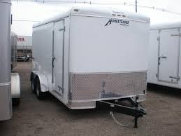 enclosed cargo trailers we are the trailer pros 2017 h h 7x14 enclosed cargo trailer