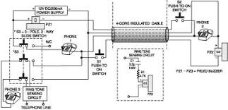two line intercom plus a telephone changeover switch electronics two line intercom plus a telephone changeover switch