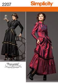 Steampunk Patterns Awesome Simplicity 48 Misses' Steampunk Costume