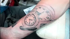 татуировка часы M Art Tattoo мастер максим круглов Youtube