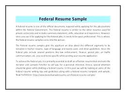 federal resume federal resume sample new resume