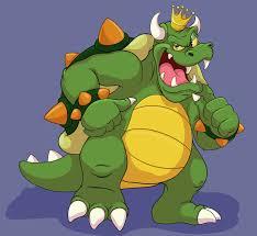 karakter King Koppa Nintendo Bowser