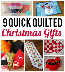 9 Quick Quilted Gifts to Make in a Flash & quick quilted christmas gifts Adamdwight.com