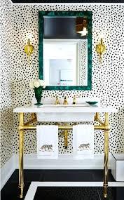 bathroom wallpaper bathroom wallpaper wallpaper black on cream via bathroom wallpaper border ideas