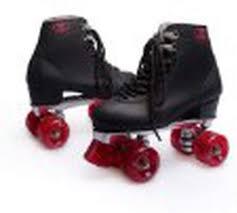 Indoor/Outdoor Street Riding, Double Roller Skates, Aluminum Plate | jabbals.com