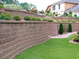 retaining wall ideas large 4 backyard on sloped walls retaining wall ideas