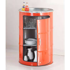 drum furniture. Upcycled Oil Drum Cabinets Furniture