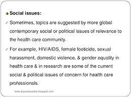 research problem social issues sometimes topics