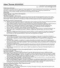 Resume Template For Manager Position – Resume Directory