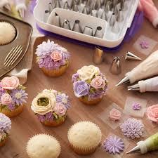 Cake Decorating Supplies New Master Decorating Tip Set 55 Piece
