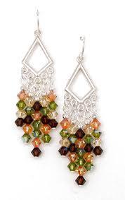 03 04 299 crystal chandelier earrings olivine chili pepper