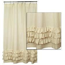 ruffle shower curtain purple large size of cream linen purple ruffle shower curtains77 shower