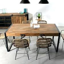 Table Avec Rallonge Table Table Avec Rallonge Style Industriel