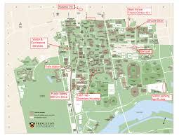 venue within princeton university map  roundtripticketme
