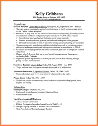 2 Curriculum Vitae Examples For Education Bussines Proposal 2017