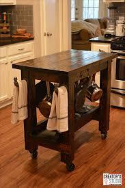 diy kitchen island cart. Inexpensive DIY Kitchen Island Cart Diy T