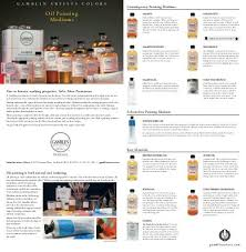 To Download Our Oil Painting Mediums Guide Gamblin Artists