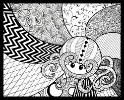 Zentangle Patterns Easy Cool Decorating