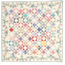 Intermediate Quilt Pattern: Morning Glory   April/May 2013 ... & ... this vintage-inspired quilt with fabrics from the 1930s. Give your  version an authentic feel by using your own reproduction prints. Get the  full pattern ... Adamdwight.com