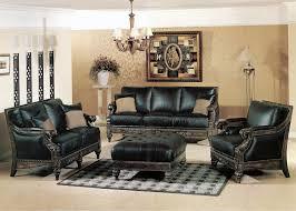 formal leather living room furniture. image of: black living room furniture set design formal leather