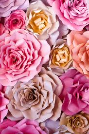Paper Flower Background Us 6 9 31 Off Huayi Paper Flowers Background Art Fabric Studio Newborns Backdrop Children Photography Prop Background Xt 5703 In Background From