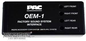 pac oem 1 oem1 factory system or radio replacement interface product pac oem 1