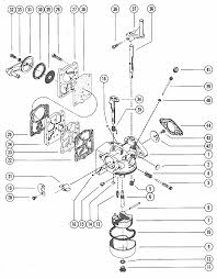 mercury marine hp carburetor assembly complete parts engine section