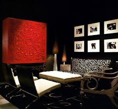 modern living room black and red. View In Gallery Black And Red Used A Dramatic Bold Fashion The Living Room Modern