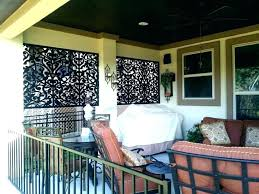 apartment patio screen enclosures outdoor porch curtains with shower curtain liner patio screen door home design