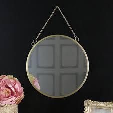 round wall mirror mirror wall bedroom