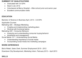 Examples Of Combination Resumes Combined Resume Template