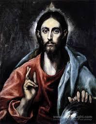 christ as saviour el greco
