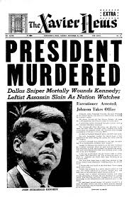 Jfk years in office Man Xaviernews Xavier Magazine Xavier University 50 Years Later The Jfk Assassination Xavier Magazine
