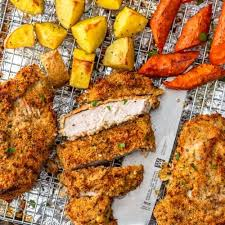 breaded pork chops recipe baked and