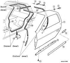 exterior door parts. door-seal-pict.jpg (70081 bytes) exterior door parts