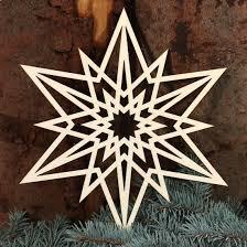 Stern Fensterbilder Deko Aus Holz Und Acrylglas Für Weihnachten Bütic Gmbh