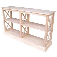 entryway console table. Hampton Unfinished Console Table Entryway