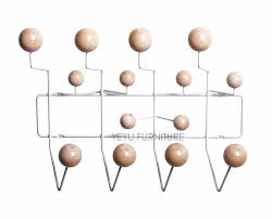 Ball Coat Rack modern loft Single color or Multi Color ball and steel wire hang it 20