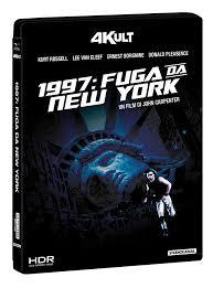 1997 FUGA DA NEW YORK 4KULT BLU-RAY 4K+BLU-RAY+CARD