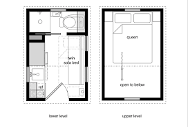 10 Tiny House Floor Plans With Lower Level Beds Micro House Plans Beautiful  Inspiration