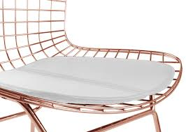 bertoia wire chair. Bertoia-wire-side-chair-rosegold-finish.jpg Bertoia Wire Chair