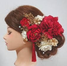 メルカリ ヘッドドレス 髪飾り 結婚式髪飾り 成人式髪飾り 振袖髪飾り