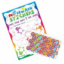 A4 Rainbow Reward Charts And Stickers