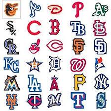 amazon com mlb major league baseball team logo stickers set of Wedding Mlb Logo mlb major league baseball team logo stickers set of 30 teams 4\