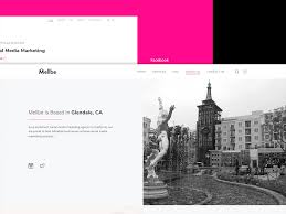 Glendale Website Design Minimalist Web Design For Mellbe By Emin Sinanyan On Dribbble